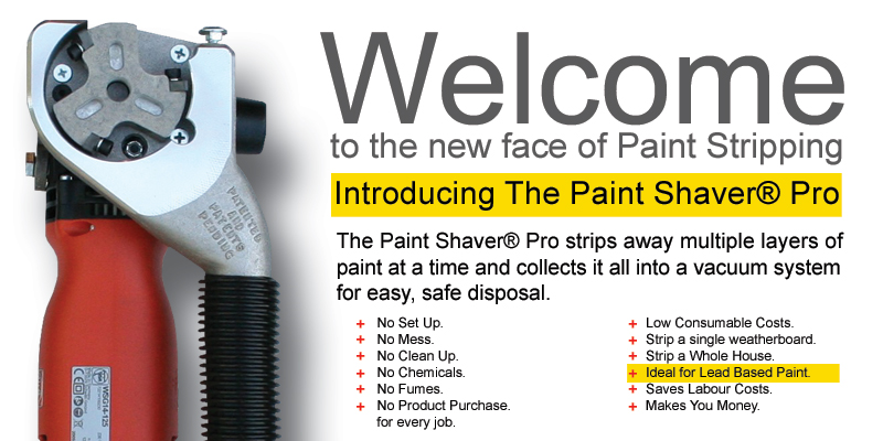 The Fastest Way To Strip Paint. The Paintshaver Pro.