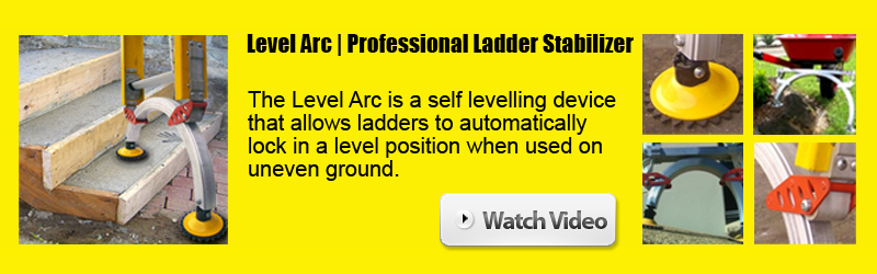 Making ladders safe with the Level Arc Ladder Stabiliser